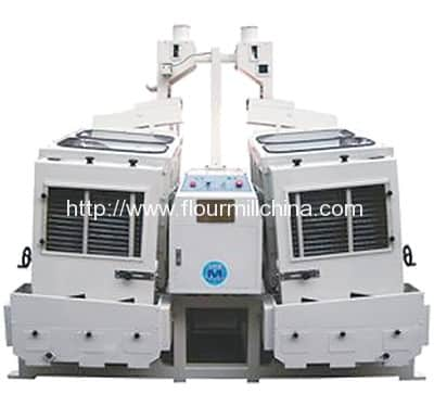 Double Body Paddy Separator for Rice Processing
