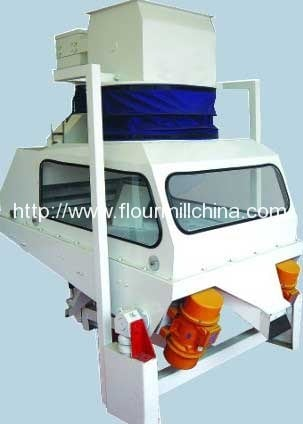 Double-Sieve-Stone-Remover-for-Rice-Processing