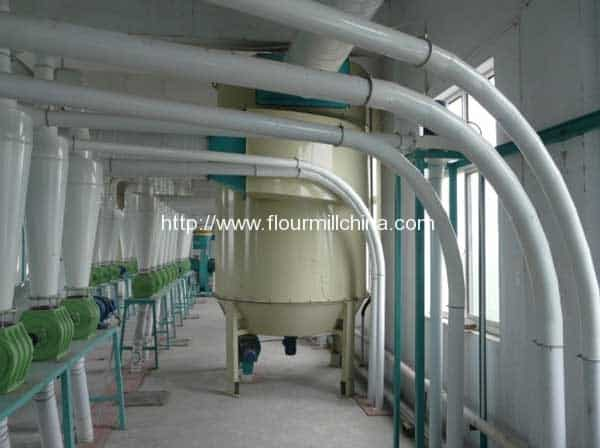 Pulse-Dust-Collector-for-Wheat-Flour-Plant