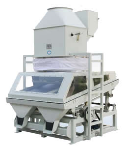 Suction Type Gravity Stone Remover for Rice Processing
