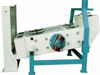 Vibrating-Cleaning-Sieve-for-Rice-Processing