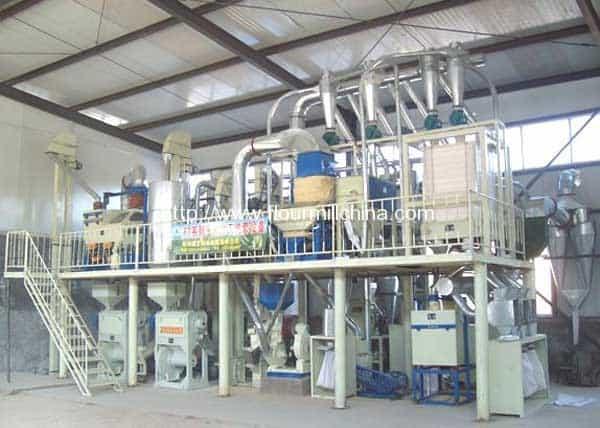 20TPD-Corn-Grits-Corn-Flour-Milling-Plant