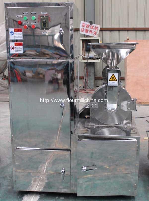 Single-Unit-Rice-Powder-Milling-Machine